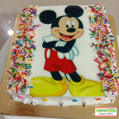 Online Course in Pune For Birthday Cakes + Fondant Cake : Baking & Icing Video Course (Pre-recorded) in Hindi