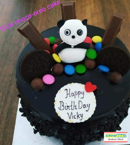 Online Course in Nainital For Birthday Cakes + Fondant Cake : Baking & Icing Video Course (Pre-recorded) in Hindi