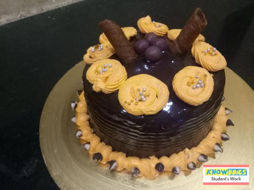 Online Course in Mumbai For Birthday Cakes + Fondant Cake : Baking & Icing Video Course (Pre-recorded) in Hindi