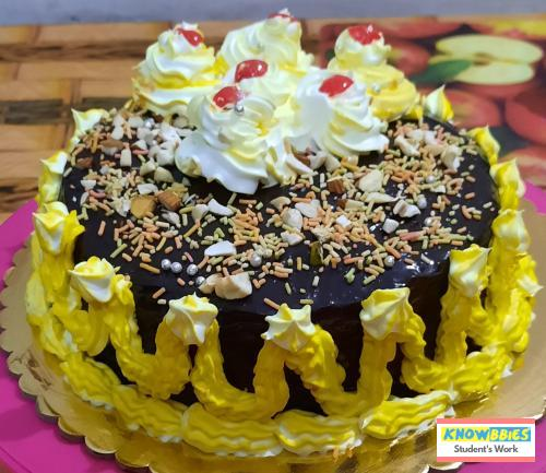 Online Course in Chittarajan For Birthday Cakes + Fondant Cake : Baking & Icing Video Course (Pre-recorded) in Hindi