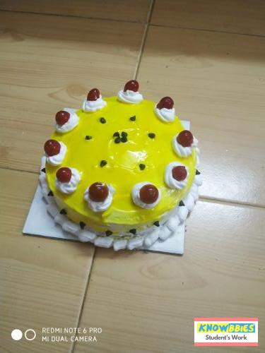 Online Course in Pudukkottai For Birthday Cakes + Fondant Cake : Baking & Icing Video Course (Pre-recorded) in Hindi