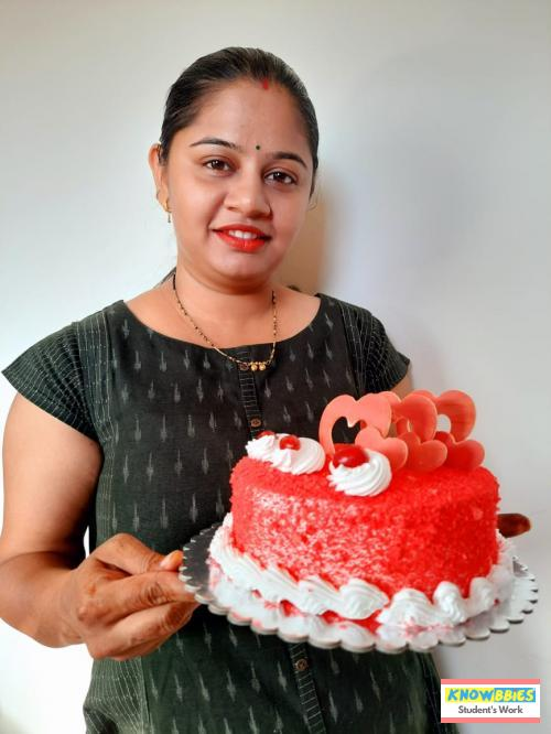 Online Course in Nagpur  For Birthday Cakes + Fondant Cake : Baking & Icing Video Course (Pre-recorded) in Hindi