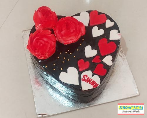 Online Course in Susner agar malwa For Birthday Cakes + Fondant Cake : Baking & Icing Video Course (Pre-recorded) in Hindi