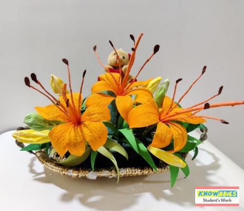 Online Course in Mumbai For Paper Flower Chocolate Bouquet Making Video Course (Pre-Recorded) in Hindi
