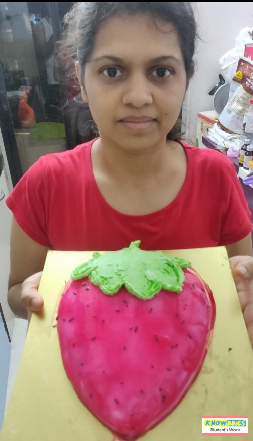 Online Course in Navi Mumbai For Birthday Cakes + Fondant Cake : Baking & Icing Video Course (Pre-recorded) in Hindi