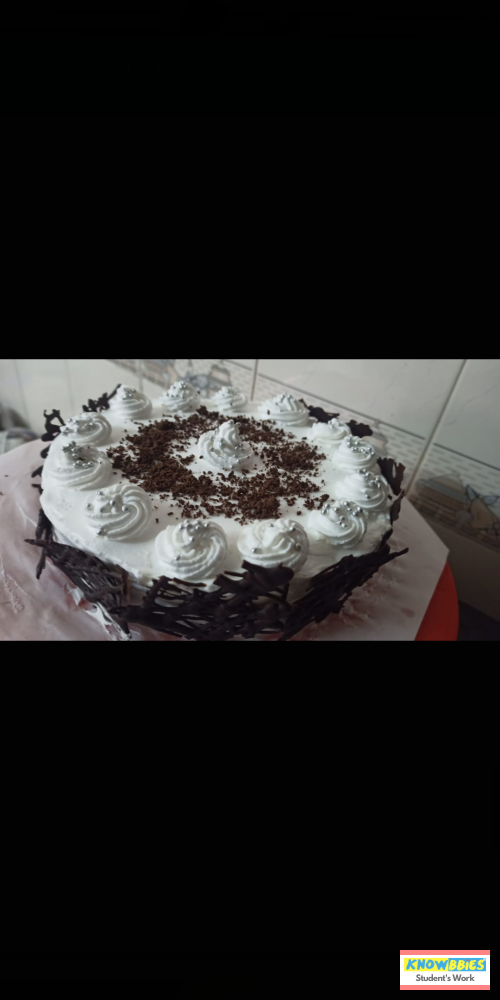 Online Course in Ganapavaram For Birthday Cakes + Fondant Cake : Baking & Icing Video Course (Pre-recorded) in Hindi