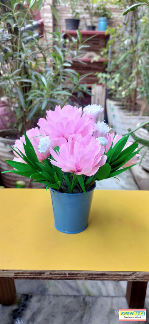 Online Course in New delhi For Paper Flower Chocolate Bouquet Making Video Course (Pre-Recorded) in Hindi