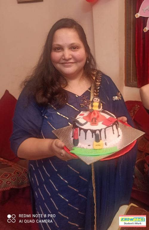 Online Course in Sehore For Birthday Cakes + Fondant Cake : Baking & Icing Video Course (Pre-recorded) in Hindi