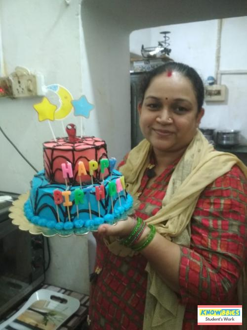 Online Course in Ranchi For Birthday Cakes + Fondant Cake : Baking & Icing Video Course (Pre-recorded) in Hindi