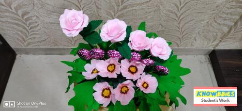 Online Course in Pune For Paper Flower Chocolate Bouquet Making Video Course (Pre-Recorded) in Hindi