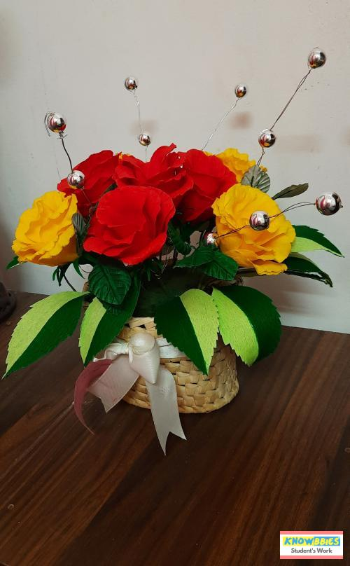 Online Course in Ernakulam For Paper Flower Chocolate Bouquet Making Video Course (Pre-Recorded) in Hindi