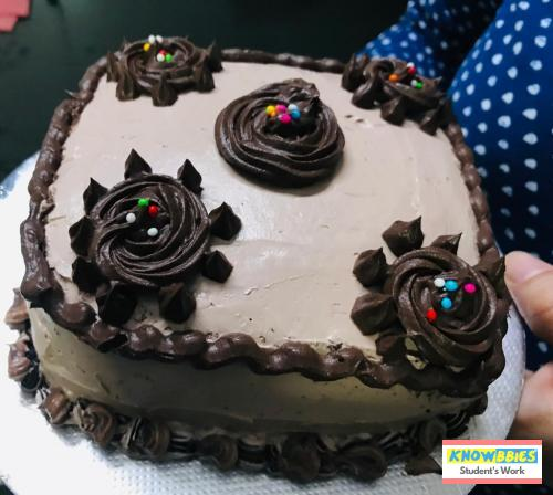 Online Course in Secunderabad For Birthday Cakes + Fondant Cake : Baking & Icing Video Course (Pre-recorded) in Hindi