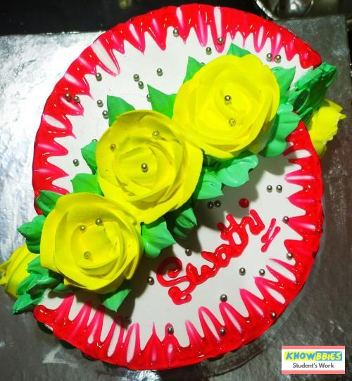Online Course in Hindupur For Birthday Cakes + Fondant Cake : Baking & Icing Video Course (Pre-recorded) in Hindi