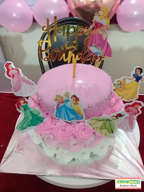 Online Course in Nashik For Birthday Cakes + Fondant Cake : Baking & Icing Video Course (Pre-recorded) in Hindi