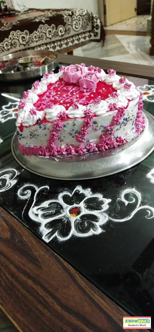 Online Course in Ambajogai For Birthday Cakes + Fondant Cake : Baking & Icing Video Course (Pre-recorded) in Hindi