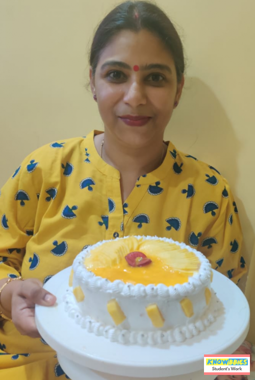 Online Course in Kolkata For Birthday Cakes + Fondant Cake : Baking & Icing Video Course (Pre-recorded) in Hindi