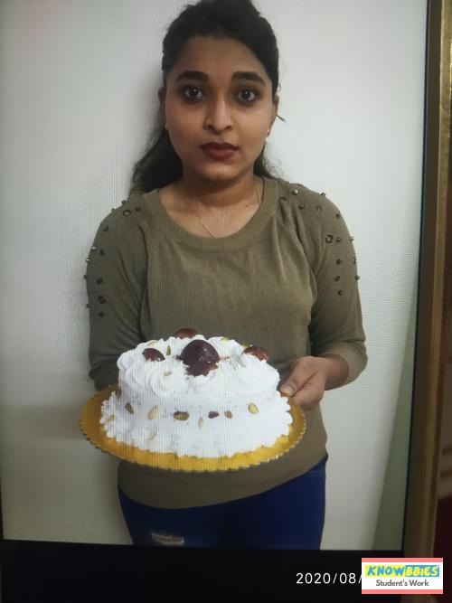 Online Course in Nalasopara For Birthday Cakes + Fondant Cake : Baking & Icing Video Course (Pre-recorded) in Hindi