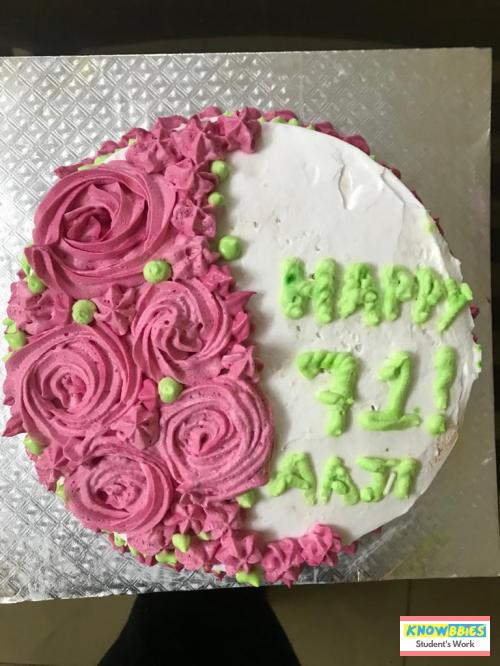 Online Course in Bhopal For Birthday Cakes + Fondant Cake : Baking & Icing Video Course (Pre-recorded) in Hindi