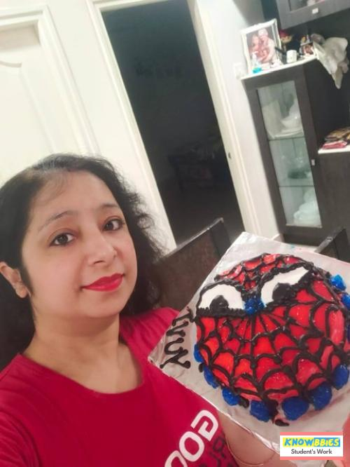 Online Course in Hyderabad For Birthday Cakes + Fondant Cake : Baking & Icing Video Course (Pre-recorded) in Hindi