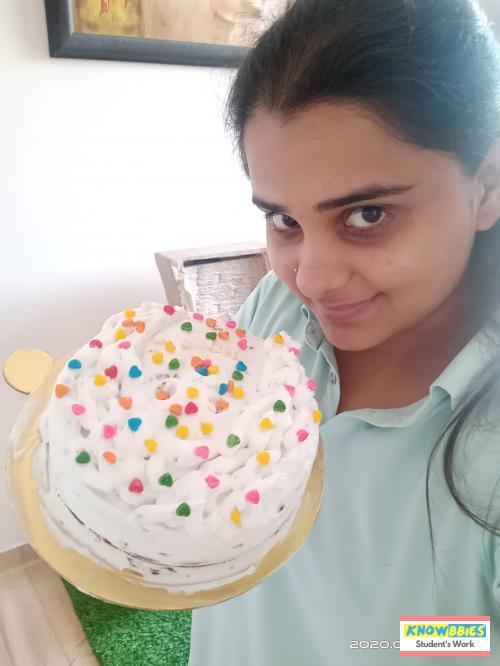 Online Course in Chandigarh For Birthday Cakes + Fondant Cake : Baking & Icing Video Course (Pre-recorded) in Hindi